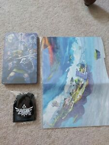 Skyward Sword - Nintendo Switch - Steelcase, Keyring And Poster - NO GAME
