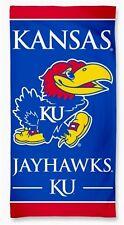 Team Colors WinCraft NCAA Kansas Jayhawks 30x60 Beach Towel One Size