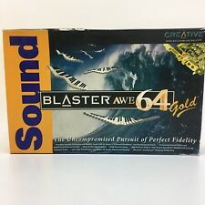 CREATIVE LABS Sound Blaster AWE64 Gold CT4390 Audio Card Boxed With Extras