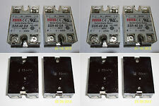 4 PCS , 24-380 VAC , 40 AMP SOLID STATE RELAY , 3-32 VDC INPUT , BRAND NEW !!!
