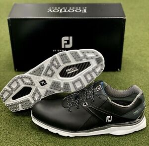 FootJoy 2021 Pro SL Carbon Spikeless Golf Shoes 53108 Black 11.5 Wide EE #83088