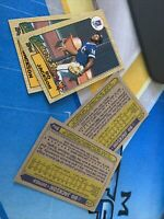 1987 87 Topps Future Stars Bo Jackson Rookie RC #170,lot Of 4 Great Deal