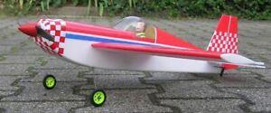 Neu Indoor RC Slowflyer mini Extra 3D-Kunstflug Depron Bausatz