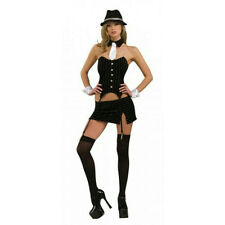 Secret Wishes Sexy Women's Ms. Gangster Adult Costume Size XS 2-6