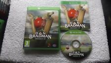 DON BRADMAN CRICKET 17 XBOX ONE FAST POST ( sports/cricket simulation game )