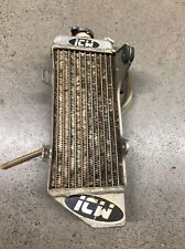 ICW FILL SIDE RADIATOR HONDA CRF250R 2010-2011-2012-2013-CRF 250R USED OEM