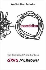 Essentialism: The Disciplined Pursuit of Less by Greg McKeown Book | NEW AU