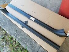 BMW E36 Carpet TRIM Cover 325 328 323 318 M3  97 98 BLACK Door Sill CONVERTIBLE