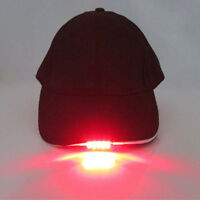 Adjustable Baseball-Cap with 5LED Light Hat Fishing Camping Outdoor Hiking Hot