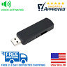 SpygearGadgets Voice Activated USB Flash Drive Spy Voice and Audio Recorder