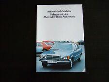 MERCEDES  PROSPEKT · Automatik · 08/1978