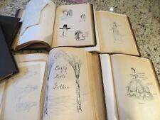 6 vol 1930/40s Costume Dress Design Theatre Clothing Period Sketch Pattern Books