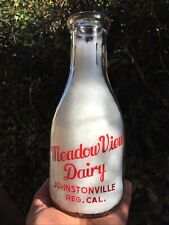 Meadow View Dairy. Johnstonville, California.