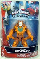 "Power Rangers Ninja Steel 5"" Evil Space Alien Villain Cat O'Clock Bandai (MOC)"
