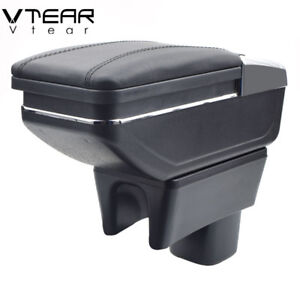 Vtear For SUZUKI Swift armrest box central Store content box cup holder 2021