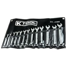 13 Piece High Polish Metric Combination Wrench Set By K Tool International