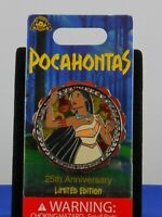Disney POCAHONTAS 25th Anniversary COLORS OF THE WIND Spinner LE 3500 Pin