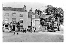pt6259 - Bristol Tram 218 at Brislington Post Office Terminus - photo 6x4