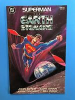 SUPERMAN THE EARTH STEALERS #1 DC COMICS 1988 Near Mint
