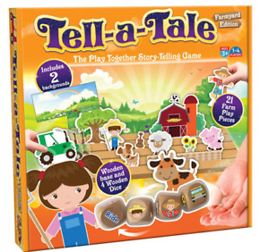 Tell - A - Tale Board Game Farmyard Edition Story-Telling Game Family Children