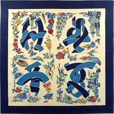 "Japanese Wrapping Cloth Furoshiki Kanji fabric Serizawa 55x55cm(21x21"") cotton"