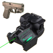 Micro Green Laser Sight Rechargeable Subcompact Pistol Sight Glock Ruger