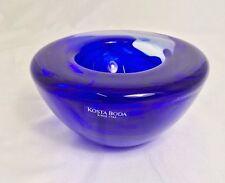 Kosta Boda Coppetta Atollo blu - 7059727 - Atoll by Anna Ehrner - NEW -