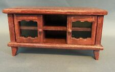 Dollhouse Miniature 1:12 Scale TV Stand ONLY (TV NOT INCLUDED)