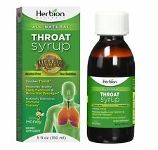 Herbion Naturals Syrup Throat