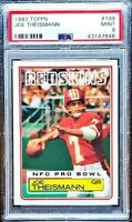 JOE THEISMANN 1983 Topps #199 PSA 9 MINT Washington Redskins HOF