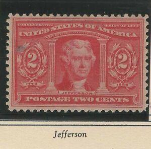 USA 1904 MLH LOUISIANA PURCHASE EXPO THOMAS JEFFERSON
