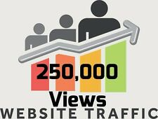 Over 250,000 Views for your website/blog real Web TRAFFIC + Live stats