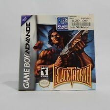 Blackthorne Nintendo Game Boy Advance GBA Complete In Mint Box CIB Game + Manual