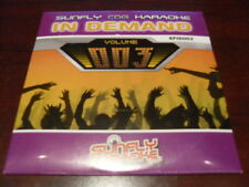 SUNFLY IN DEMAND KARAOKE DISC SFID003 VOLUME 003 CD+G SEALED 15 TRACKS