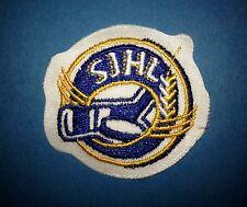 Saskatchewan Junior Hockey League CCM / Maska Iron On Jersey Crest Patch SJHL