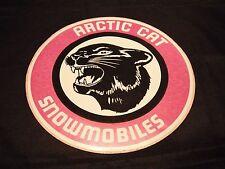 Vintage NOS Arctic Cat Snowmobiles Large Cat Head Decal (Left Facing)