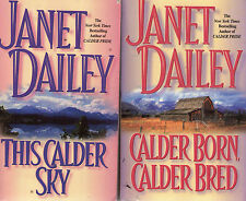 Partial Set Lot of 6 Hardcover Calder Books Number 5-10 by Janet Dailey