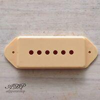 Tapa Micro Crema Dog Ear Para P-90 Carcasa Pickup Vintage Gibson Es Sg