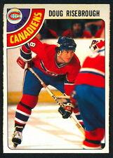 1978 79 OPC O PEE CHEE 249 DOUG RISEBROUGH NM MONTREAL CANADIENS HOCKEY CARD