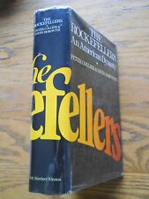 THE ROCKEFELLERS AN AMERICAN DYNASTY BY PETER COLLIER, HC DJ