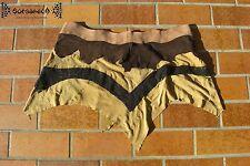 Mittelalter zipfel rock jupe skirt leder cuir Larp gothic elfen goa psy wicca