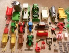 Farm Vehicles - Large Lot of Playset Toys - Tractors / Trailers / Implements
