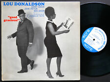 LOU DONALDSON Good Gracious! LP BLUE NOTE 4125 NY MONO Grant Green John Patton