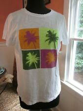 STYLUS BRIGHTLY COLORED PALM TREE T-SHIRT SIZE LARGE BRAND NEW NO TAG