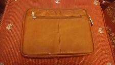 NWOT Piel Columbia Leather Handmade Travel Case. Authentic.