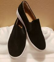 NEW Vionic Splendid Midi Slip On Comfort Shoe - Women's Size 9, Black Suede