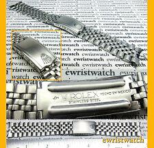 "Rare Vintage Rolex ""J/M HECHO EN MEXICO"" Stainless Steel Jubilee Bracelet 19mm"