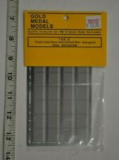 N Scale Gold Medal Models 1602 * Chain Link Fence with Barbed Wire (less gates)