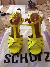 Schutz Stephen Sandals  (lime) Dress Pump Size 8B New MSRP: $340.00