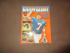 Gator Glory A Season Divine Florida 1996 National Champions Signed D Wuerffel*